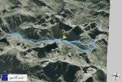 Profil Randonnée 3D Étang de Peyregrand - Port Vell de Siguer - Port de Siguer Ariège Pyrénées