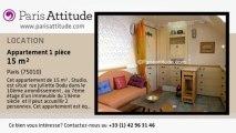 Appartement Studio à louer - Canal St Martin, Paris - Ref. 7433