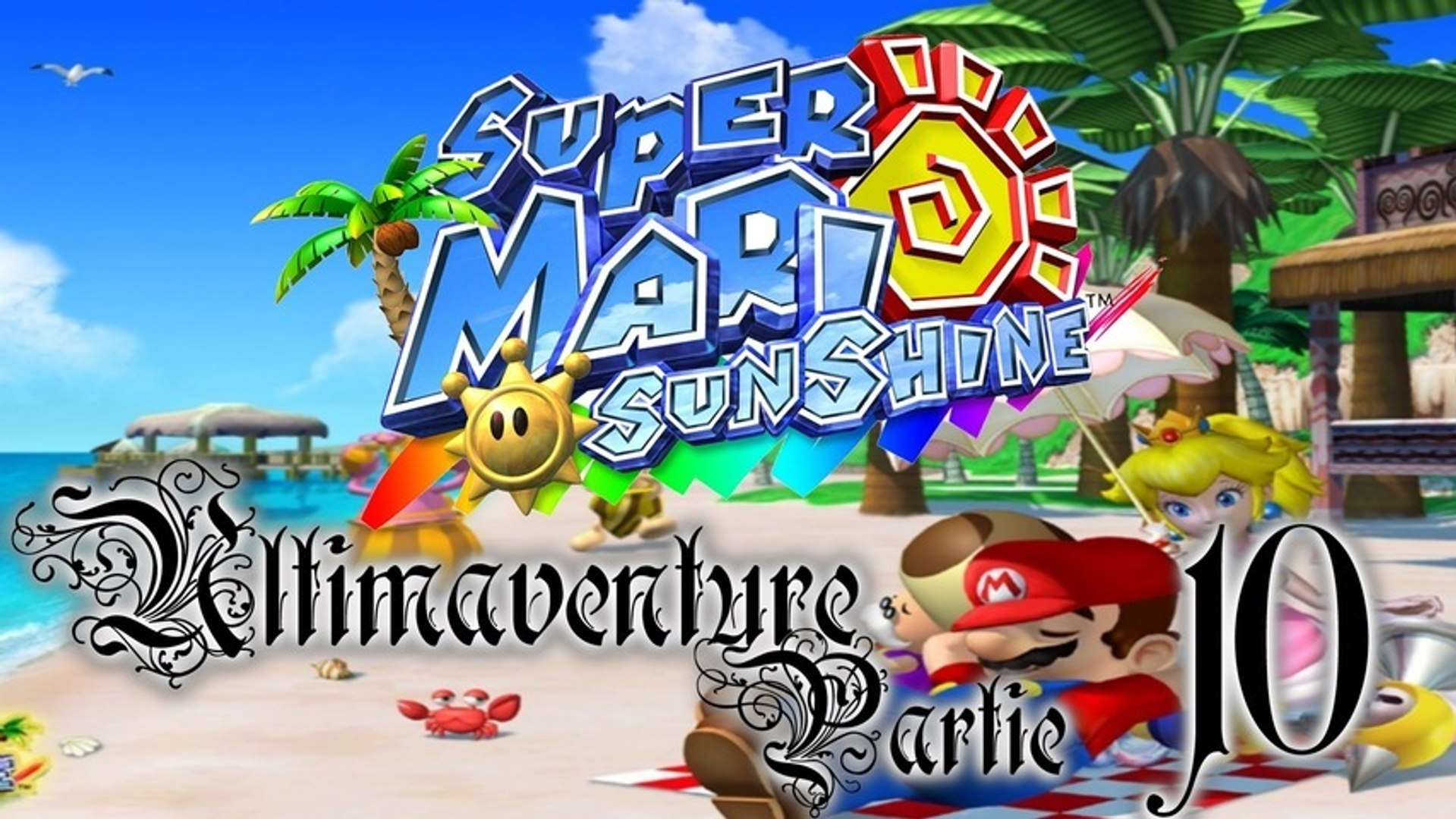 Super Mario Sunshine [10] - Un boss en 2D