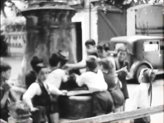 Colonie de vacances de Villiers-sur-Loir en 1949