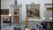 Musée des beaux arts des Beaux-arts de Tours, le déménagement de l'oeuvre de François André-Vincent, Molé et les factieux