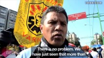 Mexico's Tlatelolco Massacre 45 Year Anniversary March Met with Police Repression