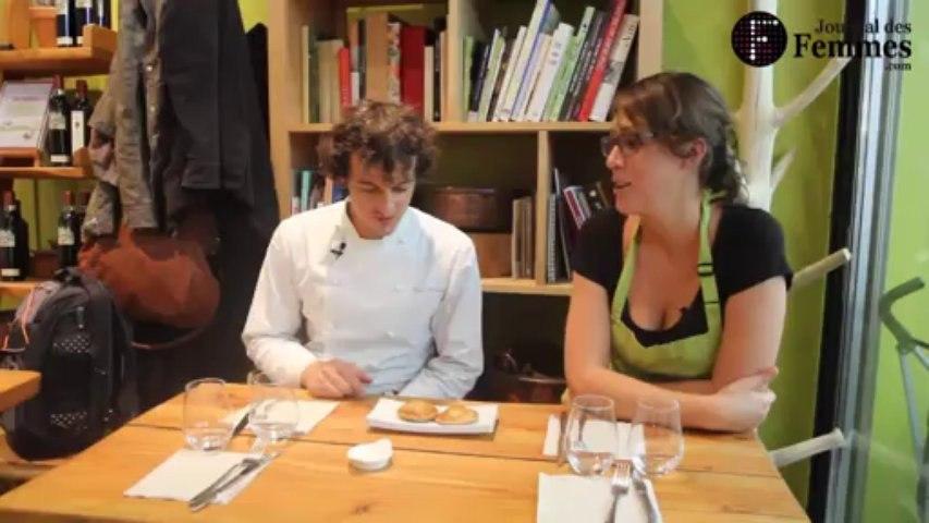 Concours de cuisine The Fourneaux Show : Charlotte chez Brice Morvent