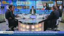 Les entrepreneurs ont-ils leur place en politique? dans Les décodeurs de l'éco - 10/10 3/5