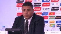 """Brasil 2014 - Ronaldo: """"Me gustaría ver a Messi jugando con Brasil antes que a Diego Costa"""""""