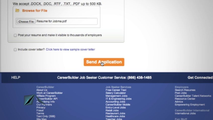 Using Jobma to Apply on CareerBuilder