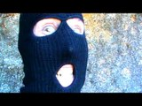 Masked man Gort Evans denies being dangerous; claims it was a joke