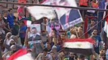 Morsi supporters protest in massive sit-ins in Egypt