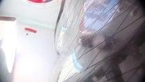 Le chavirage de Virbac-Paprec - Vue de l'intérieur du voilier