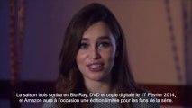 Annonce Blu-Ray Game Of Thrones Saison 3 par Emilia Clarke VOST