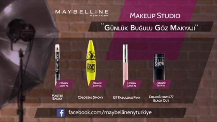 Maybelline ile Günlük Pratik Buğulu Göz Makyajı