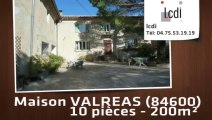 Vente - maison - VALREAS (84600)  - 200m²