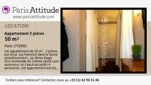 Appartement 2 Chambres à louer - Jardin du Luxembourg, Paris - Ref. 7885