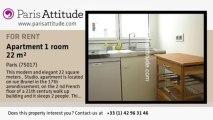 Studio Apartment for rent - Porte Maillot/Palais des Congrès, Paris - Ref. 7463