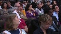 Najat Vallaud-Belkacem au Forum La Republique face aux Extremismes