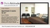 1 Bedroom Apartment for rent - Jardin des Plantes, Paris - Ref. 7384