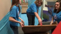 Gangway to Galilee, Concordia's 2014 VBS Decorating - Gangway Dock