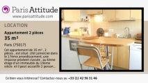 Appartement 1 Chambre à louer - Batignolles, Paris - Ref. 8299