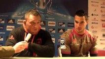 Rugby - Réaction Marc Clerc et John Traini