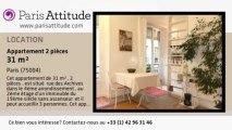 Appartement 1 Chambre à louer - Centre George Pompidou, Paris - Ref. 1648