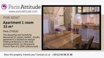 Studio Apartment for rent - Boulogne Billancourt, Paris - Ref. 5939