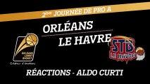 Réaction d'Aldo Curti - J02 - Orléans reçoit Le Havre