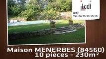 Vente - maison - MENERBES (84560)  - 230m²