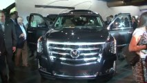 2015 Cadillac Escalade in NYC - Stage Reveal