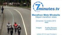 Marathon Relais Départ - Marathon Metz Mirabelle 2013