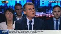 BFM Politique: L'interview de Vincent Peillon par Apolline de Malherbe –- 13/10 2/7