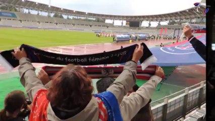 Ambiance PSG/OL avec les OL Ang'elles, supporters de l'Olympique Lyonnais (29/09/2013)