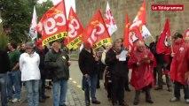 Saint-Malo. Réforme des retraites : une cinquantaine de manifestants