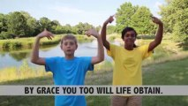 By Grace I'm Saved - Gangway to Galilee, Concordia's 2014 VBS Song Action Video