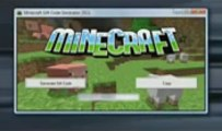 Minecraft Gift Code Generator 2013 Pro v7 1 Released) with Download Link