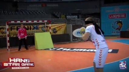 Hand Star Game - Fénix Toulouse - Défi du penalty aveugle