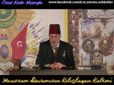 Sultan Vahideddin ''Millet Koyundur'' ifâdesini kullandı mı_, Üstad Kadir Mısıroğlu