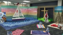 Gangway to Galilee, Concordia's 2014 VBS Decorating - Jesus Sail Boat
