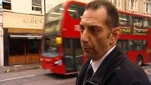 Witness describes terror arrest