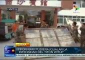 Tifón Nari pudiera igualar intensidad del tifón Wutip