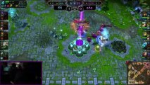 LOL FUN - Best move - aAa Yellowstars epic ashe arrow Dreamhack finals
