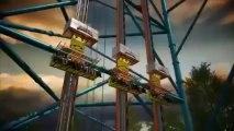 Zumanjaro Drop of Doom , l'attraction avec la plus grande chute - 126 mètres