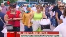 """Turkcell """"Yerli Akıllı Telefon - Gebze"""" @SkyTürk360"""
