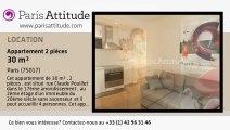Appartement 1 Chambre à louer - Batignolles, Paris - Ref. 7807