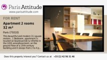 1 Bedroom Apartment for rent - Canal St Martin, Paris - Ref. 7329