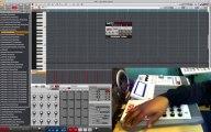 AKAI MPC RENAISSANCE SAMPLE TRACK SONG MODE & RUNNING THE AKAI MPC 1.5 UPDATE