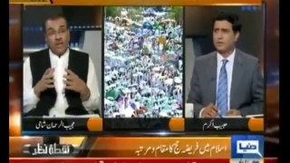 Nuqta e Nazar , Mujeeb ur Rehman ,14th October 2013 , Khutba e Hajj , Talk Show , Dunya News