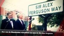 Une rue au nom de Sir Alex Ferguson à Manchester