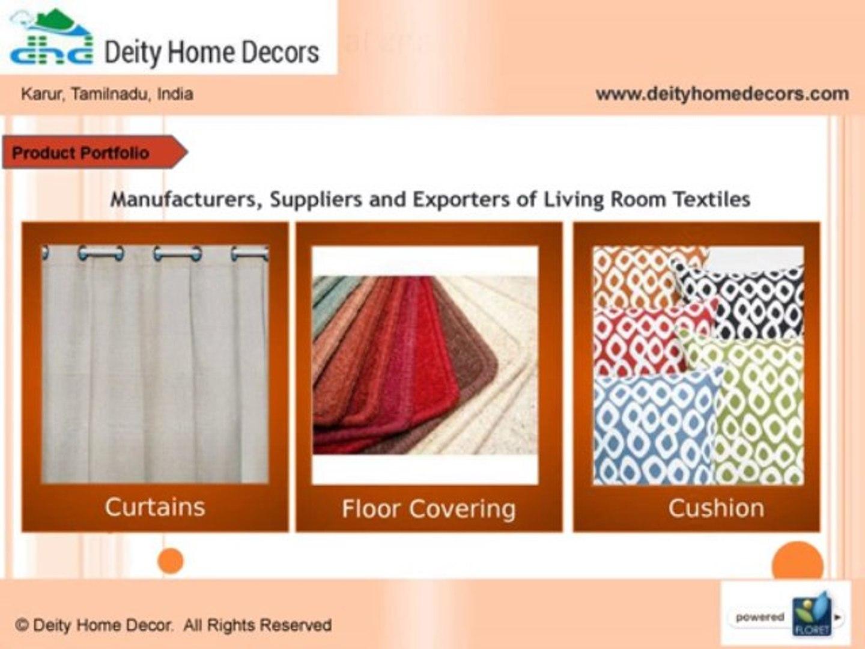 Cotton Home Decor Suppliers in Karur, Tamil Nadu