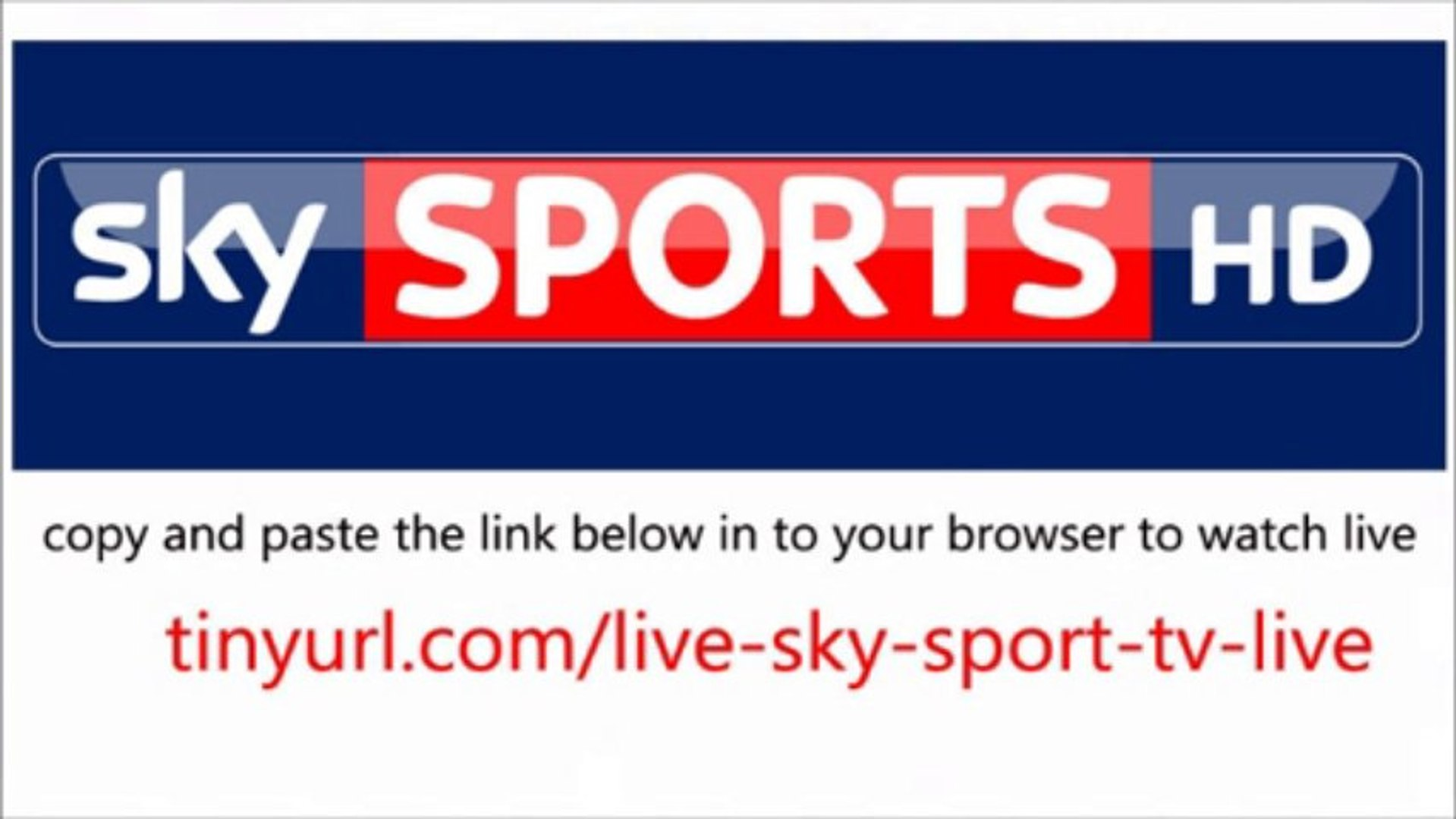 Live Sky Sport TV watch Live Streaming Online Free HD - video dailymotion