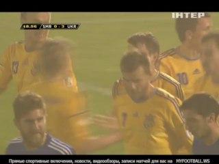 Гол Марко Девич · Сан-Марино - Украина - 0:2